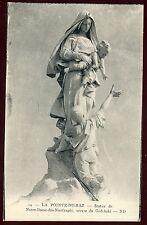 29  LA POINTE DU RAZ   statue de notre dame des naufragés    (64)