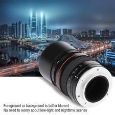 135mm F2.8 DSLR Full-frame Telephoto Large Aperture Manual Fixed Focus Lens SG