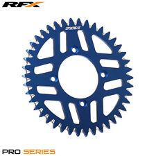 RFX Pro Serie 4 ensayos Trasero Perno Del Piñón 43 Dientes Azul