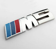 Auto Car M Power M5 Aufkleber Emblem Metall Schriftzug Plakette für Chrom Neu