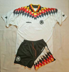 Germany World Cup 1994 rare home XL soccer jersey and size L shorts!