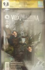 CRITICAL ROLE VOX MACHINA ORIGINS 1 CGC SS 9.8 Signed by almost entire cast RARE