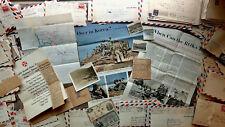 Circa 1953 Handwritten Korean War Letters 1St Lt. Combat Military Advisor 300pc