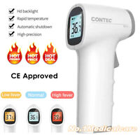 Termometro a infrarossi Senza contatto LCD digitale Fronte misuratore di tempera