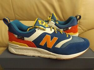 New Balance CM997HFB Men's Size 13 Classics Sneakers Outdoor Pack Blue White NEW