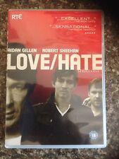 LOVE HATE SERIES 1&2 DVD UK REGION 2