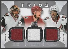 2015-16 THE CUP TRIOS JERSEYS #C3COYO M. SMITH/ EKMAN-LARSSON/  A. DUCLAIR /40