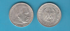 MONETA GERMANIA GERMANY DEUTSCHLAND 5 MARK 1936.A ARGENTO SILBER SILVER