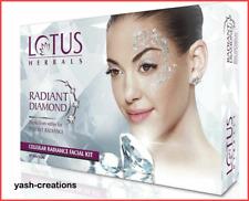 Lotus Herbals RADIANT DIAMOND Cellular Radiance Single Facial Kit For Glow Skin