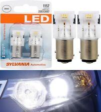 Sylvania Premium LED Light 1157 White 6000K Two Bulbs Stop Brake Replace OE Lamp