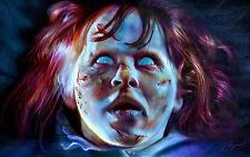 Regan The Exorcist Horror Fine Art Print
