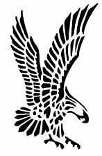 Mylar plantilla Eagle (1), plantilla de pintura original de Mylar Re-utilizable