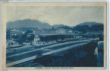 CARTOLINA 1931 VARESE INTERNO STAZIONE FERROVIA STATO 194/A