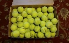 100 USED TENNIS BALLS - DOG TOYS, FLOOR PROTECTOR, BASEBALL, WALKER ...