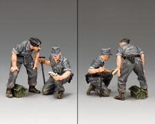 KING & COUNTRY WW2 GERMAN ARMY WH069 TANK REPAIR CREW MIB