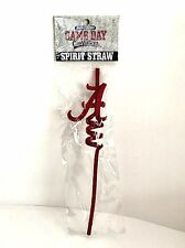 University of Alabama Spirit Straw Licensed Game Day Outfitters Crimson Tide