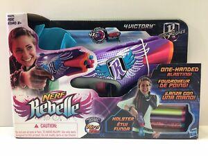 New Nerf Rebelle 4Victory Blaster