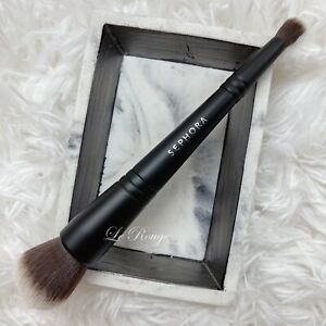 SEPHORA Double Ended Multitasker foundation powder Face & Concealer Brush #202