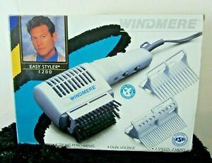 Vintage Windmere Easy Styler 1200 Hair Dryer Model HD-1DVA/110 New In Box