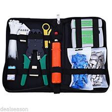 Network Computer Maintenance Tool Kit Cable Tester Rj45 Cat5 Cat5e Connector