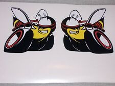 PAIR Scat Pack Bee DECALS Decal Sticker Left and Right side