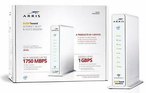 ARRIS SURFboard SVG2482AC Cable Modem Router 3-in-1 wifi Internet (Renewed)