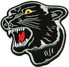 """Black Panther 8"""" Party Back Patch Sewing Iron On Revolutionary Tiger Shirt Cloth"""