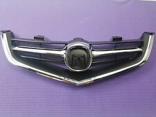 ACURA TSX Front Bumper Upper 04 05 GRILLE GRILL WHOLE PC with CHROME MOLDING