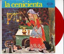 45 T  EP CONTE POUR ENFANTS *LA CENICIENTA* (CENDRILLON)  (MADE IN SPAIN)