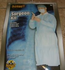 Halloween Cosplay Party  Costume SURGEON DOCTOR KIT NEW