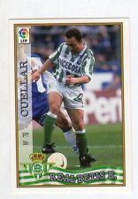 figurina card fichas - CARD LIGA 97/98 1997  - N. 78 REAL BETIS B. CUELLAR
