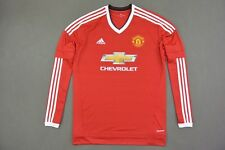 adidas Manchester United - Home Shirt 2015-16 Long Sleeve SIZE XXL (adults)