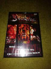 3 Cortes rare dvd horror