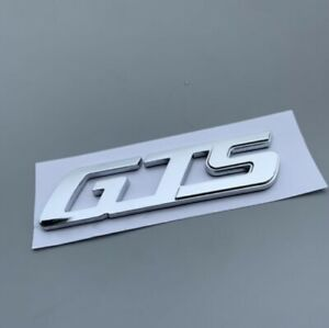 OEM Chrome GTS Letter Rear Trunk Emblem Badge for Maserati Levante Quattroporte