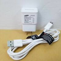 Genuine Samsung 2A Wall Charger Adapter Data Cable S4 S6 S7 Tab 3 4 Note S2 Edge