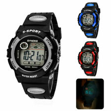 Children Waterproof Sports Watches Kid Digital LED Wrist Watch for Girls Boys