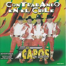 Los Capos De Mexico Contrabando En El Chile CD No Plastic Seal