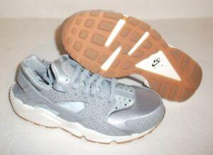 New Nike Air Huarache Premium Running, Men's Size 8, Gray, 683818 012