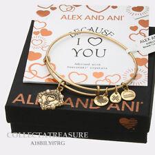 Authentic Alex and Ani Godmother(iii)  Rafaelian Gold ExpandableCharmBangle new*