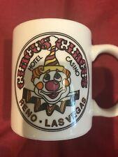 Circus Circus Las Vegas/Reno Nevada Casino Coffee Mug/Free Shipping!