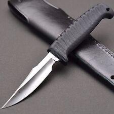 [B&T KNIFE]  ATS-34 Knife WICKY BIRD&TROUT RUBBER (L)  G.SAKAI in SEKI JAPAN.