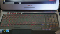 Laptop Clear Tpu Keyboard cover For ASUS G752 G752VT G752VL G752VY G752VM G752VS