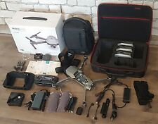 DJI Mavic Pro Platinum Combo Travel Bundle: 3 Batteries, Professional Case