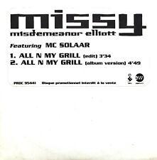 Missy Misdemeanor Elliott Featuring MC Solaar CD Single All N My Grill - Promo