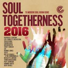 SOUL TOGETHERNESS 2016 15 MODERN SOUL ROOM GEMS NEW & SEALED CD (EXPANSION)