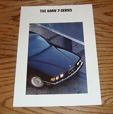 Original 1991 BMW 7-Series Sales Brochure 91 735i 735iL