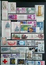 Frankreich Posten & Lots 1983/1985 (45 Werte) postfrisch Top Qualität