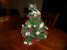 "Vintage Muffy Vanderbear Alpine Christmas Tree Appx 11""  1992 in Box"