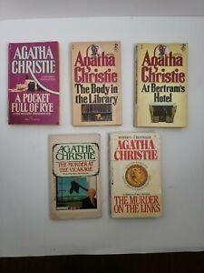 Agatha Christie Jane Marple Paperbacks