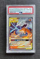 Pokemon PSA 10 Reshiram & Charizard GX SM Unbroken Bonds #20/214 Gem Mint